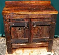 rustic vanity cabinet plans bath cabinets for bathrooms