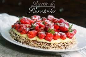 aux fraises cuisine tarte moelleuse aux fraises et amandes amour de cuisine