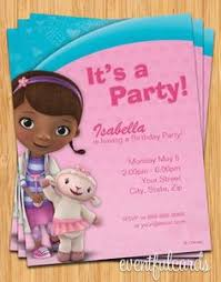 doc mcstuffins birthday party t shirt iron on transfer or diy