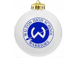 wilton high school s ptsa holds annual ornament fundraiser