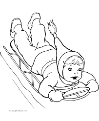 free printable winter coloring pages learning success enjoy
