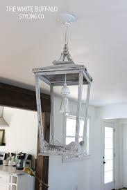 Hanging Light Fixtures From Ceiling Diy Lantern Light Fixture