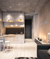 Concrete Ceiling Lighting by Apartment Refined Wooden Beams Ceiling And Light Wood Colored