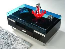 glass top coffee table with storage living room glass top coffee table with drawers best coffee tables