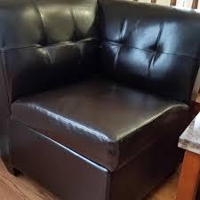 Debbie Travis Ottoman Find More Debbie Travis Bonded Leather Corner Chair With Storage