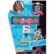 Monster High Halloween Costumes Clawdeen Wolf by Monster High Frankie Stein Makeup Kit Halloween Accessory