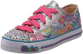 skechers womens light up shoes amazon com skechers twinkle toes sugarlicious light up sneaker