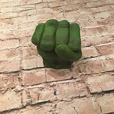 edible hulk fist sugarpaste cake decoration cupcake toppers