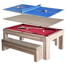 pool table combo set newport 7 ft pool table combo set w benches target