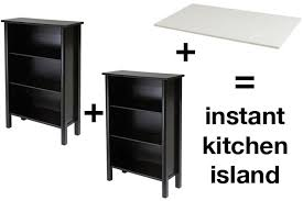 build your own kitchen island diy kitchen island from stock cabinets diy home island