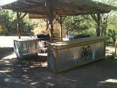 rustic outdoor kitchen ideas garage and shed outdoor kitchens design pictures remodel decor