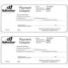payment coupon templates u2013 11 free printable pdf documents