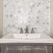 Bathroom Tile Ideas White Carrara by Gsmt Marble Mosaic Tile In White Carrara Kitchen Ideas