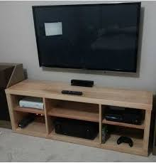 Build A Simple Wood Desk by 50 Creative Diy Tv Stand Ideas For Your Room Interior Diy