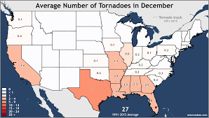 Iowa Illinois Map Annual And Monthly Tornado Averages For Each State Maps U S