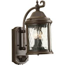 Outdoor Motion Sensor Wall Light by Progress Lighting P5854 20 Ashmore 2 Light Outdoor Wall Lantern In