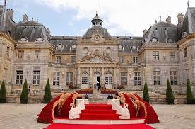 chateau pour mariage mariage le plus luxueux du monde robe de soirée chic