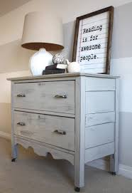 handsomely distressed dresser guest post country chic paint