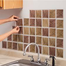 adhesive backsplash tiles for kitchen innovative exquisite self stick backsplash tile self stick