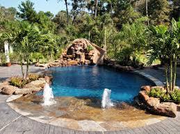 Backyard Oasis Design Ideas View In Gallery Wooden Decked Pool - Backyard oasis designs