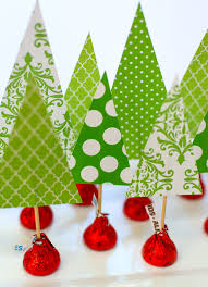 christmas crafts with kids tree forest cork and centerpieces