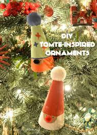 tomte ornaments diy craft munchkins