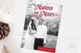 married christmas cards christmas cards tis the season two