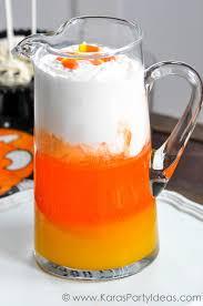 kara u0027s party ideas candy corn halloween punch drink recipe