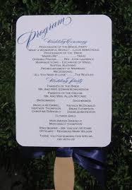 wedding program fan wording 101 best eugene wedding images on wedding