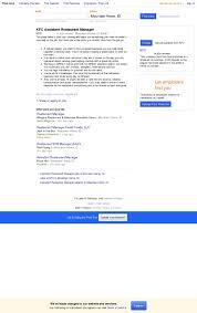 Restaurant Manager Job Resume by 100 Restaurant Manager Job Description Template Store Manager
