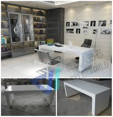 Modern Corian Office Table Design Functional White Modern Office Desk Study Desk Computer Desk Buy