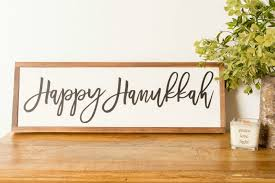 happy hanukkah signs best hanukkah gifts for the home connecticut in style