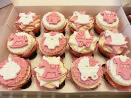 cupcakes for baby shower girl baby shower cupcakes recipe all recipes uk