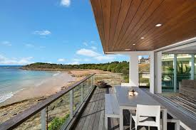 on the rocks with private access onto convent beach holiday