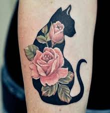 10 cat tattoos that are pretty purr fect