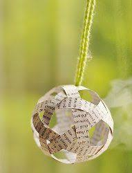 10 paper ornaments book pages by applesmodernart on etsy 25 00