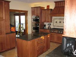 glass countertops quarter sawn oak kitchen cabinets lighting