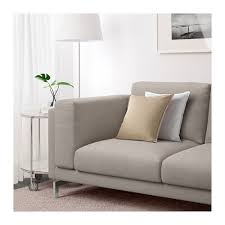 Grey Sofa Ikea Nockeby Sofa Tenö Light Gray Chrome Plated Ikea