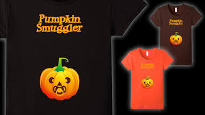 Pregnant Halloween T Shirts Halloween Pumpkin Smuggler Maternity Pregnancy Announcement T