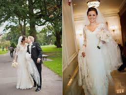 neiman wedding gowns lace bridal gown for outdoor fall wedding