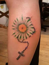daisy tattoo art and designs