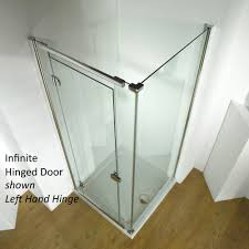 Shower Doors 1000mm by Kudos Infinite 4hd100lhs Semi Frameless 1000mm Left Hand Hinged