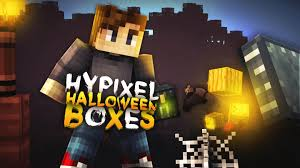 minecraft hypixel halloween mystery boxes opening so unlucky
