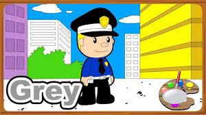 coloring of policeman u0026 police hero