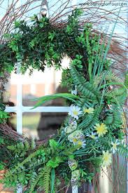 Spring Decorating Ideas For Your Front Door 5 Cheery Spring Decor Ideas For Your Home Setting For Four