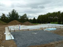 radiant heat water pump finished radiant heat tubing and covered septic tank quadomated