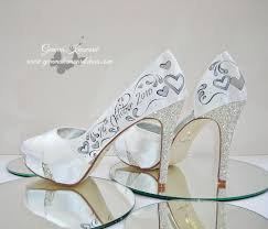 wedding shoes rainbow personalised wedding shoe competition