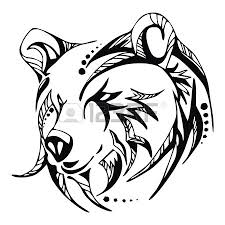 tribal bear tattoo designs apache server at www vectorgenius com