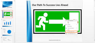 powerpoint animation reveal images using an exit animation free