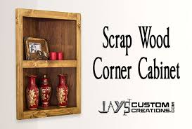 Free Woodworking Plans For Corner Cabinets by Pocket Hole Corner Cabinet Jays Custom Creations